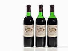 3 bottles 1979 Château Margaux