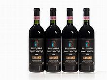 4 bottles 1989 Lisini Brunello di Montalcino, Tuscany