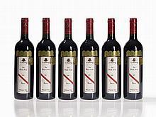 6 bottles 2001 d'Arenberg The Dead Arm Shiraz, McLaren Vale