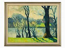 Albert Johannsen, North Frisian Landscape, c. 1930
