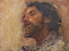 Antonio Mancini (1852-1930), 'Il Santone', circa 1900