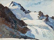 Franz Trenk (1899-1960), Painting, Zuckerhütl, Austria, 1937