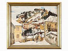 Michael Frank Bauer, Mountain Village (Pitten), 1935