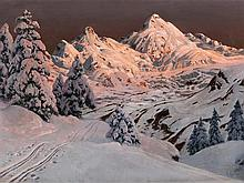 Alois Arnegger (1879-1963), 'Silvretta', around 1910