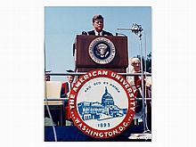 Arnie Sachs, John F. Kennedy Peace Speech, 1963