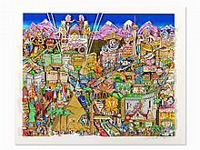 Charles Fazzino, Welcome to Las Vegas, 3D Design, 1999