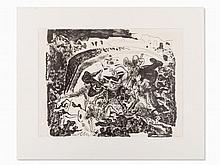 Pablo Picasso, La Grande Corrida, Lithograph, 1949