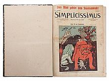 Complete 10th Year of the Weekly 'Simplicissimus', 1906