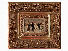 Carved and Gilded Wooden Frame, France, c. 1900