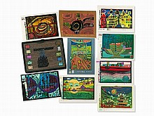 369: Austrian Modern & Contemporary Art - with Hundertwasser