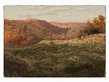 Walter Prell (1857-1936), Autumn Landscape, Painting, 20th C.