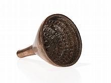 Votiv Stupa Bronze Model for Manufacture, Tibet, 19th / 20th C