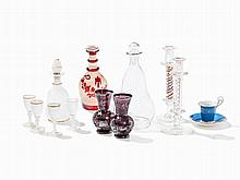 Assorted Glass Objects from the 19th & 20th Century