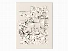 Eduard Bargheer, Inselfrühe (Insel des Odysseus), Etching, 1967