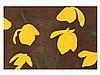Alex Katz, Yellow Flags, Woodcut in Colors, 2013, Alex Katz, €1,900