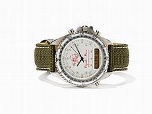 "Breitling DPW Pluton ""Diavoli Rossi"" Chronograph, Around 1990"