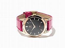 Omega Black Dial Wristwatch, Ref. 2712-2, C. 1954
