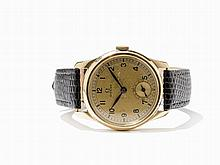 Omega, Rare And Early Sector Dial Wristwatch, Around 1937