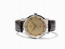 Omega Honeycomb Dial, Oversize Wristwatch, Around 1960