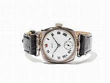 Rolex, Early Silver Wristwatch, Switzerland, Around 1930