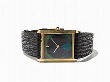 Corum Peacock Dial Wristwatch, Ref. 57111, C. 1975