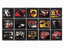 A.R. Penck/Wolf Kahlen, Achtung Aufnahme, Portfolio, 1980