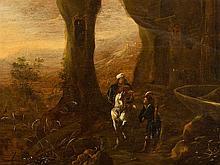 Abraham van Cuylenborch (c.1610-1658), Grotto, Oil, c. 1640