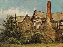 Benjamin Williams Leader (1831-1923), Old Cottage, Oil, c. 1890