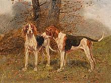 Eugène Petit (1839-1886), English Pointer, Oil, 19th-century