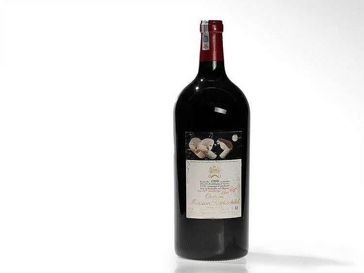 1 Jeroboam Bottle 1986 Château Mouton-Rothschild, Pauillac