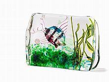 Very finely crafted Murano Aquarium, Riccardo Licata, 1955
