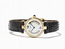 Cartier Vermeil Ladies' Watch, Switzerland, C. 1995