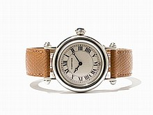 Cartier Diabolo Wristwatch, Ref. 1462.1, Around 1990