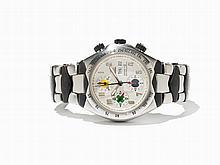 Universal Geneve Senna Chronograph, Switzerland, C. 1998