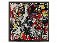 Emilio Vedova, Monotype, abstract Composition, 1970/1980