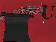 Antoni Tàpies, Aquatint Etching 'U no és ningú', 1979