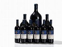 9 Bottles of Various Sizes 1991/93/2003 Fontodi Flaccianello