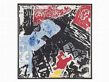 Jörg Immendorff (1945-2007), No Title, Mixed Media, 1989