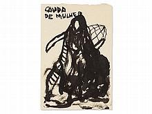 Juliao Sarmento (b. 1948), Ink Drawing, 'Cauda de Mulher', 1982