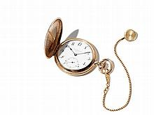Louis Audemars 14 K Gold Men's Pocketwatch, probably 1880-1890