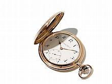 IWC Pink Gold Pocket Watch, Switzerland, Around 1900