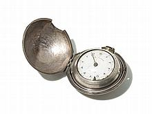 Charle George Silver Pocket Watch, England, Around 1800