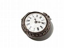 Peter Quackelstyn Silver Pocket Watch, Netherlands, Around 1730