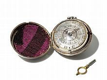 David Schultz Silver Pocket Watch, England, Around 1780