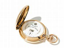 IWC Digital Pocket Watch System Pallweber, Around 1890