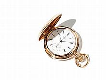 Jules Jürgensen Pink Gold Pocket Watch, Switzerland Around 1850