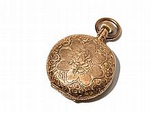 Elgin Pink Gold Pocket Watch, USA, Around 1900