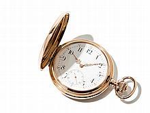 IWC Pink Gold Pocket Watch, Switzerland, Around 1950