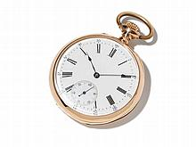 Patek Philippe Pink Gold Pocket Watch, Switzerland, Around 1900