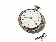 Barnard Bayley Silver Pocket Watch, England, Around 1777